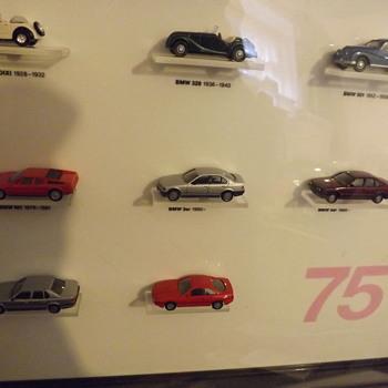 BMW 75 year car set cased - Toys