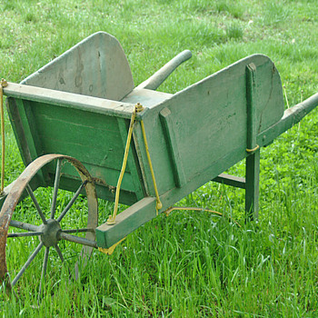 Vintage Wheelbarrow - Tools and Hardware
