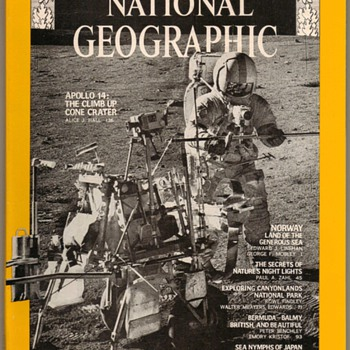 1971 - National Geographic - Apollo 14