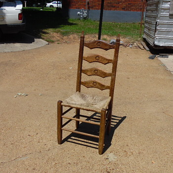 Antique Shaker Like Chair Odd Designs - Furniture