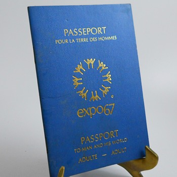 Montreal Expo 1967 Passport
