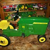 1965 Ertl John Deere 20 pedal tractor