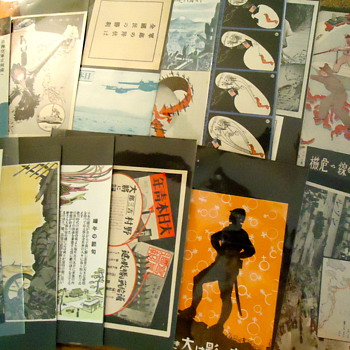 WWII Propaganda Leaflets from the Pacific  - Military and Wartime