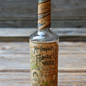Mme Campbell's Florida Water Perfume Bottle  - Bottles