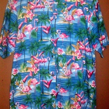 Hawiian Shirts Collectible??--This one is!  Check it out. - Mens Clothing