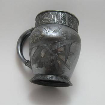 Meridian Silver Plated Mug