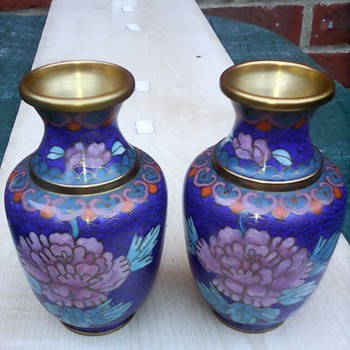 My pair of cloisonne vases - Asian