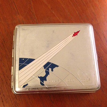 Sputnik Souvenir Cigarette Case - Tobacciana