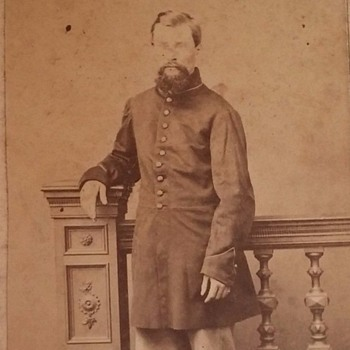 Civil War soldier cdv, Andersonville POW - Military and Wartime