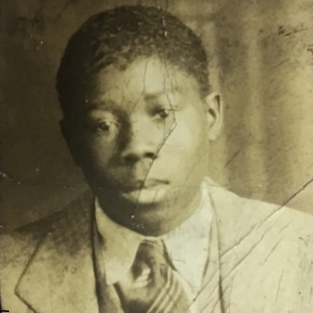 photobooth photo of young Louis Armstrong  - Photographs