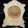 Ansonia Porcelain Clock ROYAL BONN CASE