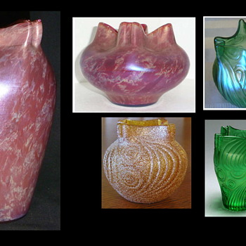 Welz Spiraloptisch?? – Who Made the Décor? – Heresy & Insanity - Round Two ! - Art Glass