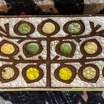 MCM Tile - Tree of Life - Vohann's of Calif - Pottery