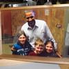 Barack Obama photograph serving tray