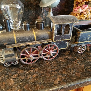 D. P. CLARK FRICTION HILL CLIMBER TOY TRAIN DATED NOV 2, 1897  - Model Trains