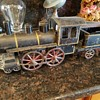 D. P. CLARK FRICTION HILL CLIMBER TOY TRAIN DATED NOV 2, 1897