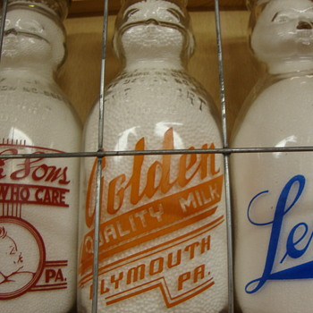 Golden Quality Milk Baby Top Plymouth Pa............. - Bottles