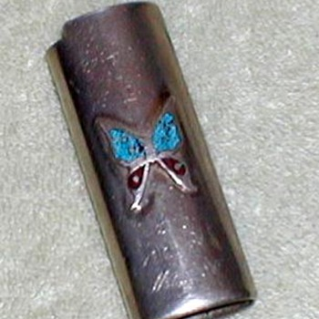 """Butterfly"" Lighter Holder for Bic Disposables - Tobacciana"