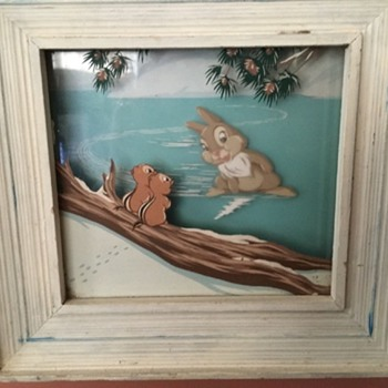 Disney Multiplane Paintings - 1942 - Fine Art