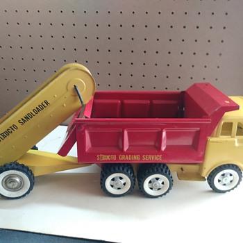 Structo Dump Truck/Sandloader - Model Cars