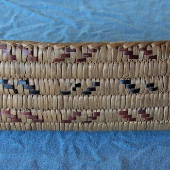 canoe and boat-shaped woven baskets, Salish, c. 1930 - Native American
