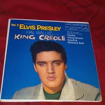 King Creole Vol. 2 Sleeve - Records