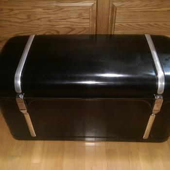 Old automotive trunk