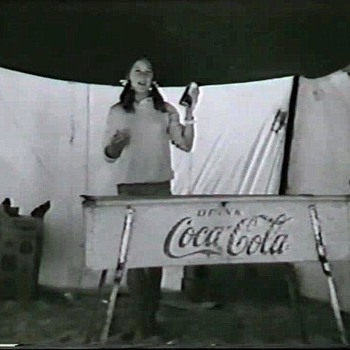 Coca Cola Ice Trough. - Coca-Cola