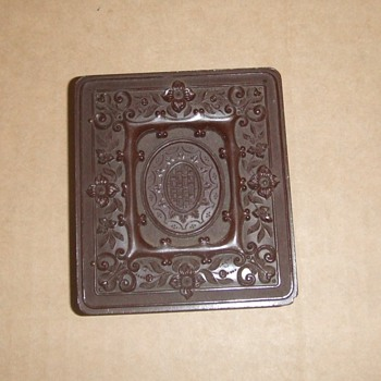 Sixth plate thermoplastic photograph case - Photographs