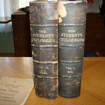 "TWO VOLUME  ""CYCLOPEDIA"" FROM THE LATE 1800's - Books"