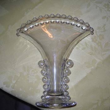 glass vase - Glassware