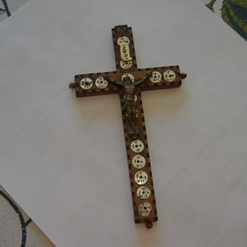 antique crucifix
