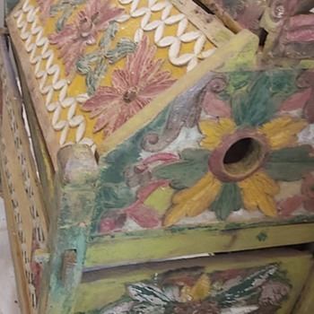 Carved Chest, What was it used for? - Folk Art