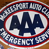 AAA PORCELAIN SIGN