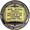 Mountain States Telephone Advertising Mirror
