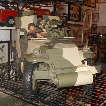 GI Joe Half Track with Crew - Toys