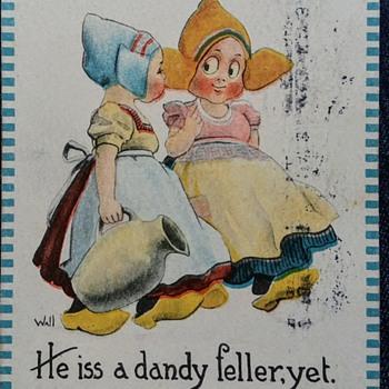 Early 1900's Bernhardt Wall  - Postcards