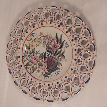 Does anyone know any thing about this Portugal Plate - Pottery