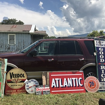 Dixie Gas Show Seveirville Tennessee 2018 - Signs