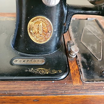 Singer Sewing Machine Y8471830 - Sewing
