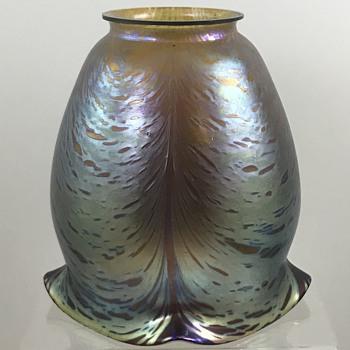 "Loetz  Phänomen Genre 6283 ""braun verlaufend innen Silber"", PN II-6283, ca. 1908 - Art Glass"