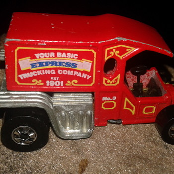 1980 T-TOTALLER HOT WHEELS - Model Cars