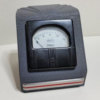 Tedeco A/C Colt Meter in Art Deco Cabinet - Art Deco