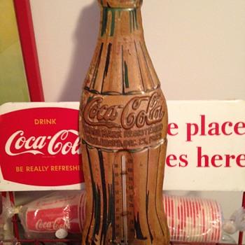 1930's Coca-Cola Thermometer  - Coca-Cola