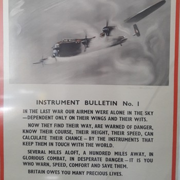 WW2 Aircraft factory propaganda poster - Military and Wartime