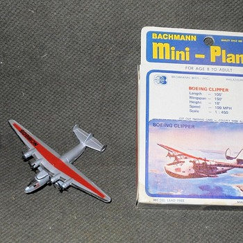Bachmsnn Mini-Planes Boeing Clipper 1970s (The Real Ones 1938-1941) - Toys