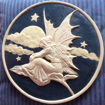 My Fairy Wall plaque - can anyone tell me anything about it please? - Art Nouveau