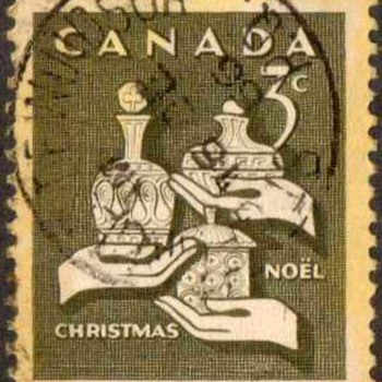 "1965 - Canada ""Christmas"" Postage Stamps"