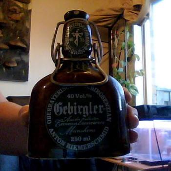gebirgler bottle - Bottles