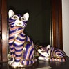 Royal Crown Derby Porcelain Cats by Scully & Scully